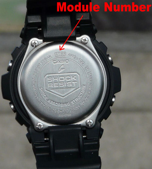 casio illuminator on User Manual for Casio Watch Module - Owner's Guide & Instructions