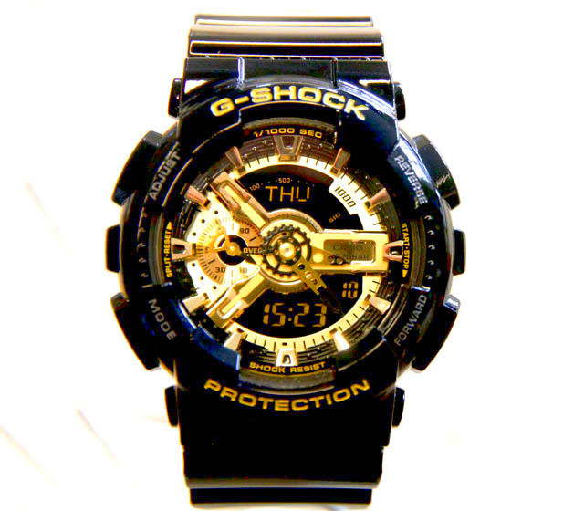 G Shock Watches Black