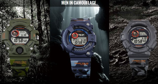 Master of G Camo Camouflage-G-Shocks-Casio-Japan-Frogman