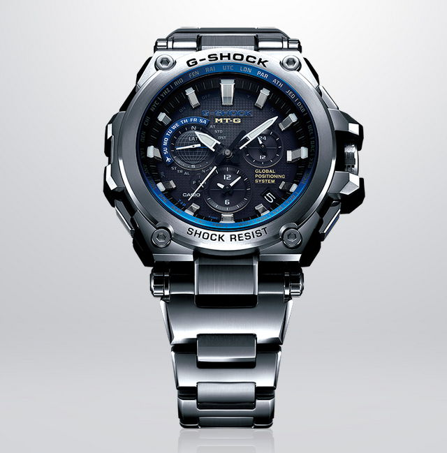 how to change the time on casio g shock ga-201