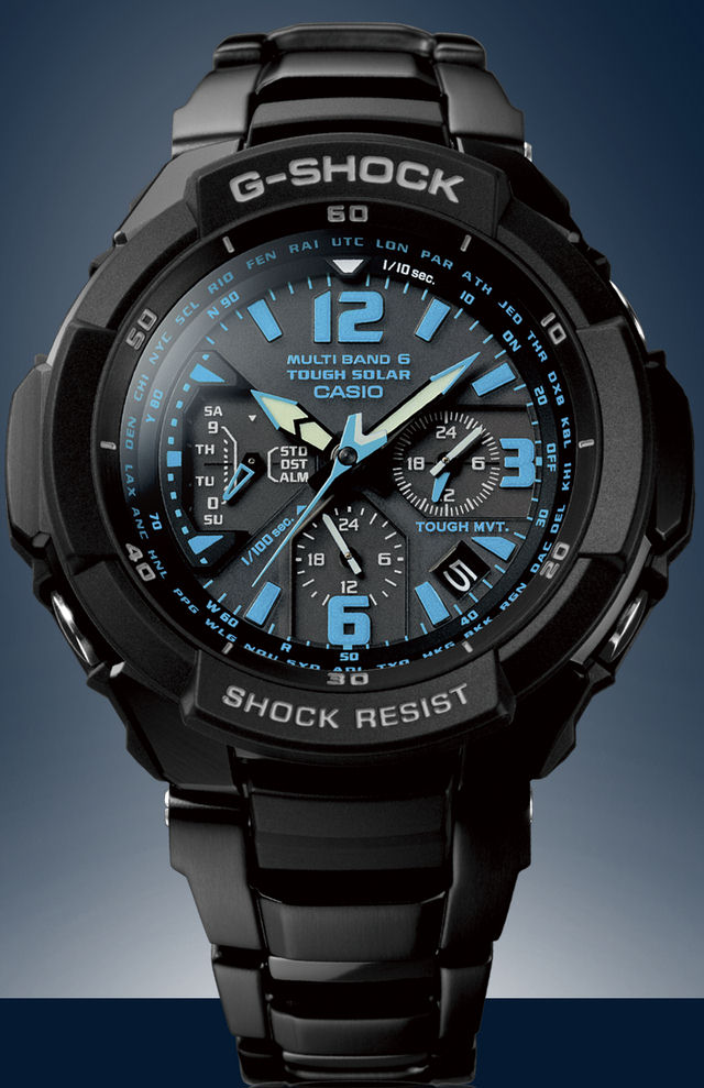 g shock watch on Casio Introduces G-Shock Watches Resistant to Centrifugal ...