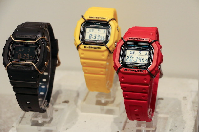 Casio recupera las bull bars / face protect DW-5600P-1JF-DW-5600P-9JF-DW-5600P-4JF-G-Shock