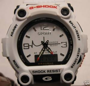 How to Spot a Fake G Shock #1: Fake GSHOCK G 7900 Casio Watch replica white