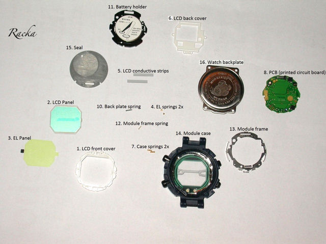 how to operate g shock watch