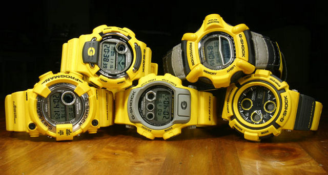 my g shock news blog new releases reviews casio mens watches men in yellow series completed