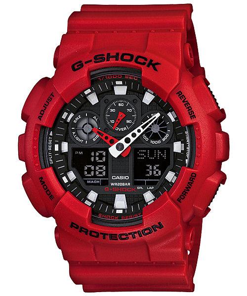 Casio G-Shock GA-100 / Новые цвета