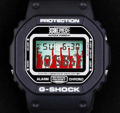 One Piece X Luffy X G Shock Dw 5600 Dw 6900 Collaboration Watches