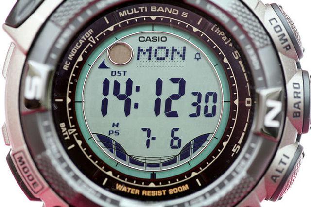 PRW-2500T-7ER PRO TREK Часы Продукция CASIO