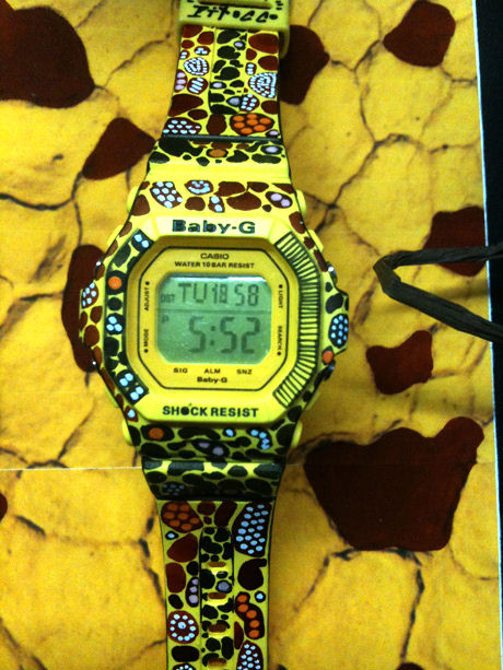 Steve Pitocco X G Shock Baby G Custom Painted Watches