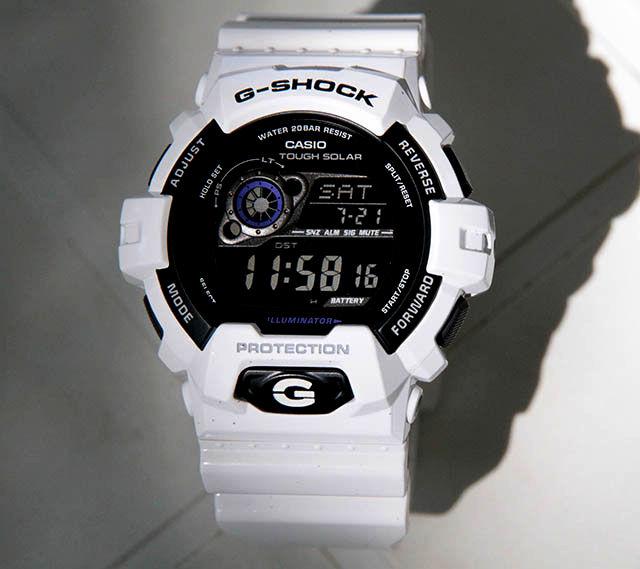 size 40 d1570 08e73 White Panda GR-8900A-7 G-Shock   mygshock.com