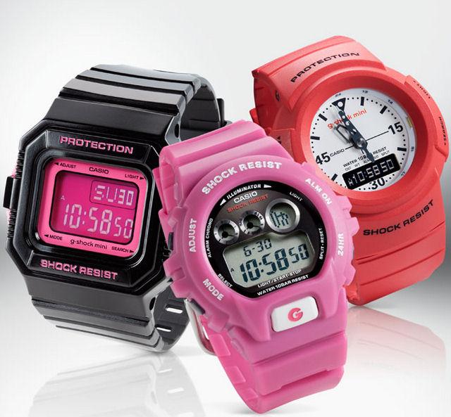 Pink-White-GShock-Minis