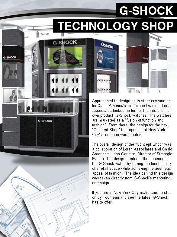 More Details on the NYC G-Shock Concept Shop | mygshock com