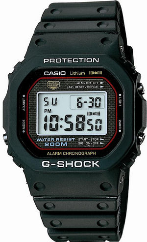 The first G-Shock -- Story of the development of the Casio  DW-5000C-1A