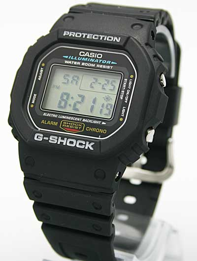 Tú G SHOCK preferido es... DW-5600E